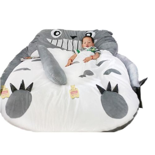 Sale!! My Neighbor Totoro Sleeping Bag Sofa Bed Twin Bed Double Bed Mattress for Kids