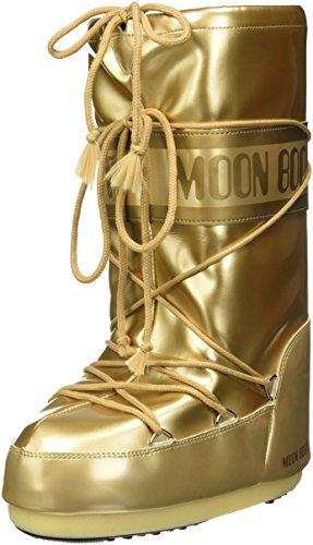 Moon Boot Vinile Met, Scarpe Sportive Outdoor Unisex Adulto, Oro, 39/41 EU