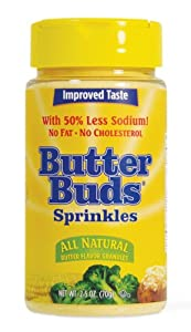 Butter Buds Sprinkles, 2.5-Ounce Canister (Pack of 12)