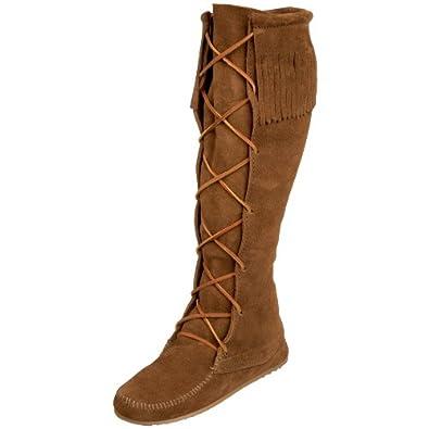 minnetonka s knee high boot shoes