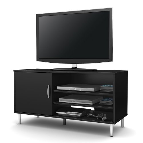 South Shore Renta Tv Stand, Pure Black