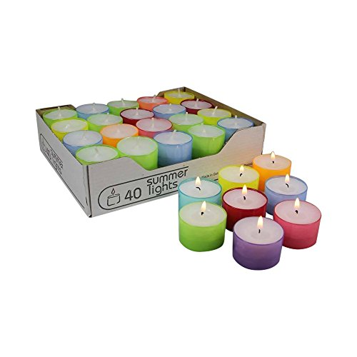 wenzel-kerzen-23-219-40-uk-8-hours-summer-lights-tea-lights-pc-cases-in-mix-multi-colour