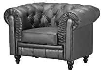 Hot Sale Zuo Aristocrat Armchair, Black