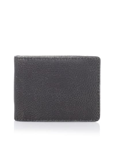 Marc New York by Andrew Marc Men's Retrocalf II Front Pocket Wallet  [Brown]