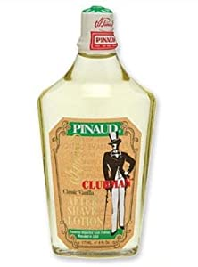 Clubman Pinaud Classic Vanilla After Shave Lotion, 6 Ounce