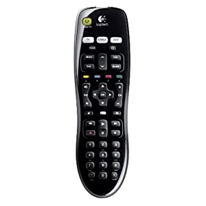 Logitech 915-000148 Harmony 200 Remote for Three Devices - Black