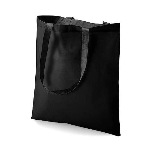 Westford Mill Cotton Shoulder Shopper Tote Bag