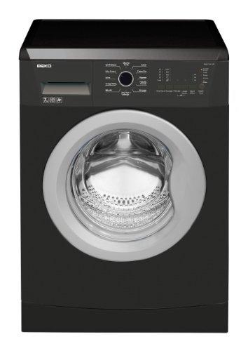 Beko WMB71221AN machine à laver - machines à laver (Autonome, Charge avant, A+, A, B, Noir)