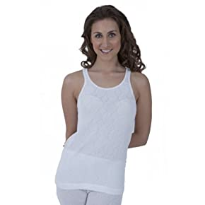 Ladies Thermal Wear Sleeveless Vest (British Made)
