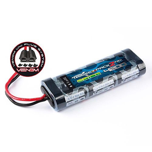 Rocket 2 4200 NiMH 7.2V 6C Flat, UNI Plug