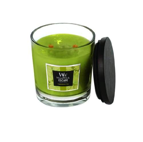 WoodWick TranquiliTea Large 2 Wick Candle