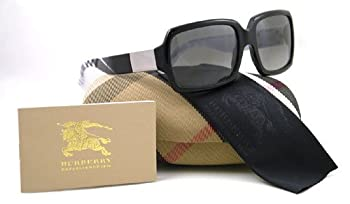 BURBERRY SUNGLASSES B BE 4076 3167/11 BLACK BE4076