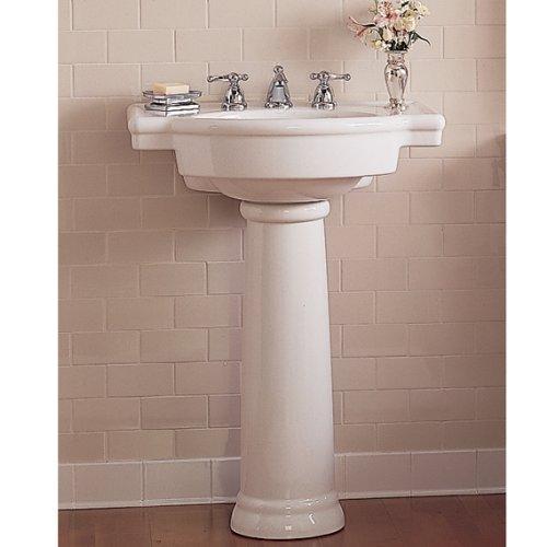American Standard 0282.800.020 Retrospect Pedestal Bathroom Sink with ...