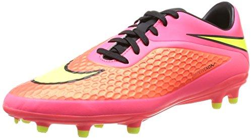 Nike Hypervenom Phelon FG Scarpe sportive, Uomo, Multicolore (BRGHT CRMSN/VLT-HYPR PNCH-BLCK), 42