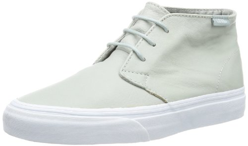 Vans Unisex - Adult U CHUKKA DECON (AGED LEATHER)M Trainers Gray Grau ((Aged Leather) mirage gray) Size: 45
