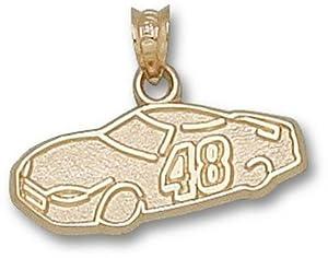 Logoart Jimmie Johnson 10K Car Pendant by Logo Art