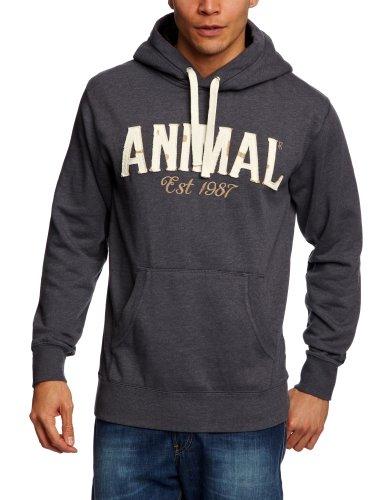 Animal Ergmont Men's Sweatshirt Ombre Grey Large - CL3SC051-456-L