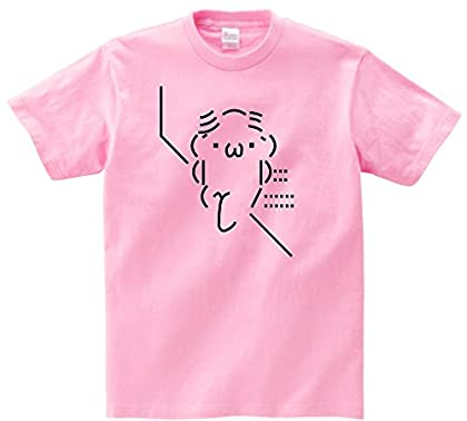 また髪の話してる 半袖Tシャツ ピンクS