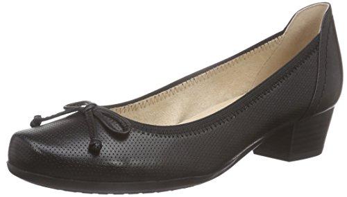 Caprice22300 - Scarpe con Tacco Donna, Nero (Nero (BLACK 1)), 38