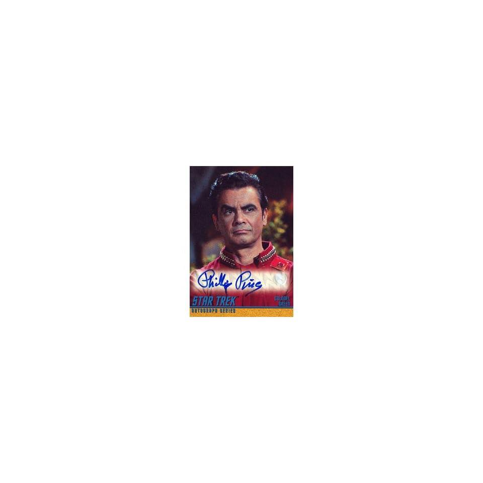 Star Trek Original Series Season 3 AUTOGRAPHED CHALLENGE Game Card #R Single Trading Card