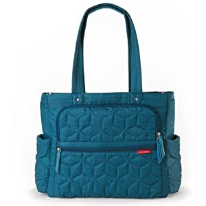Skip Hop Forma Pack and Go Diaper Tote Bag, Peacock