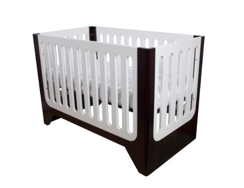 Arm's Reach Concepts Aurora Contempo 4-in-1 Designer Crib, Espresso - 1