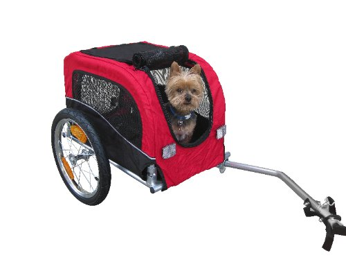 Booyah Small Dog Pet Bike Trailer