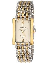 Titan Regalia Analog Beige Dial Men's Watch 1927BM02