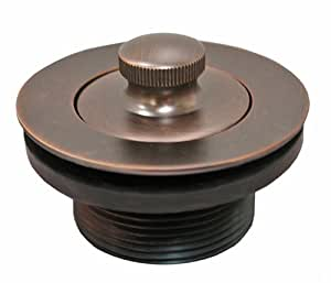 plumbest p35 60rb lift and turn tub drain oil rubbed bronze amazon