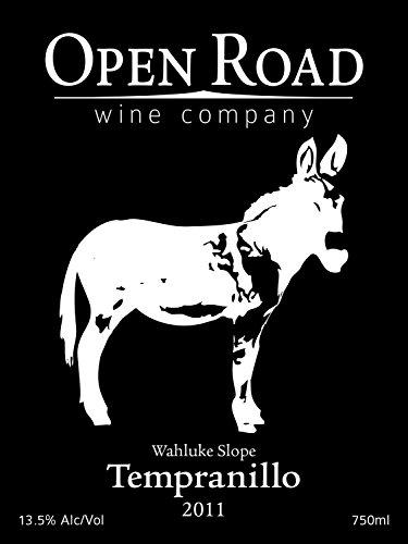 2011 Open Road Tempranillo 750 Ml
