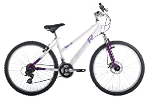 Raleigh Trail 100 Womens Mountain Bike - White/Purple, 26
