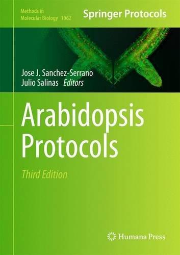 Arabidopsis Protocols (Methods In Molecular Biology)