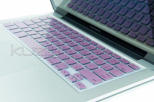=>>  Kuzy - METALLIC PURPLE Keyboard Cover Silicone Skin for MacBook Pro 13
