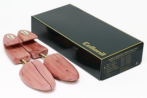 シューキーパー コロニル Collonil 木製 アロマティック シダー シューツリー(レッドシダー キーパー) 靴 型崩れ防止 乾燥 シューキーパー (メンズ(M):26.0cm~27.5cm)