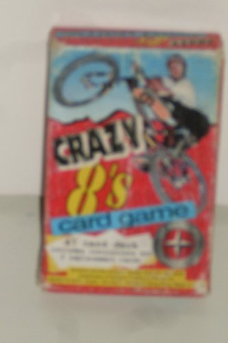 Wendy's Kids Meal Crazy 8's Card Game Schwinn BMX - 1