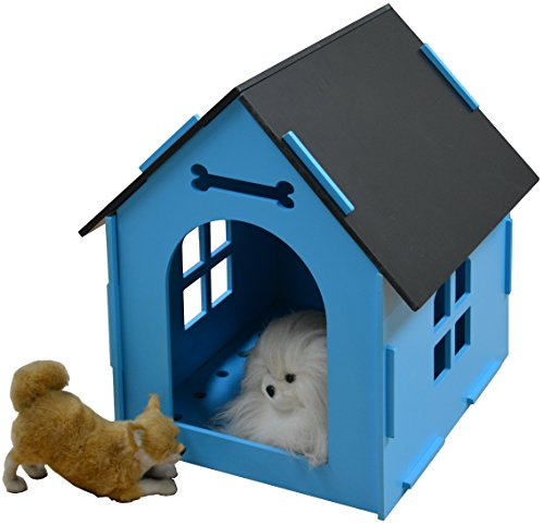 ROYAL-CRAFT-WOOD-Dog-House-Crate-Indoor-Kennel-for-Small-Dogs-Cats-Pet-Home-with-Door-and-Bed-Mat-BLUEPINK