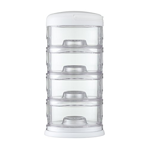 Innobaby Packin' Smart Four Tier Storage System, White, 11 Ounce - 1