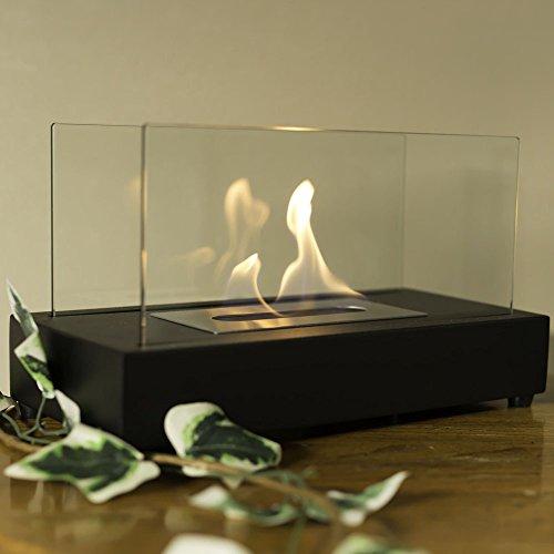 Sunnydaze Gloomy El Fuego Ventless Tabletop Bio Ethanol Fireplace