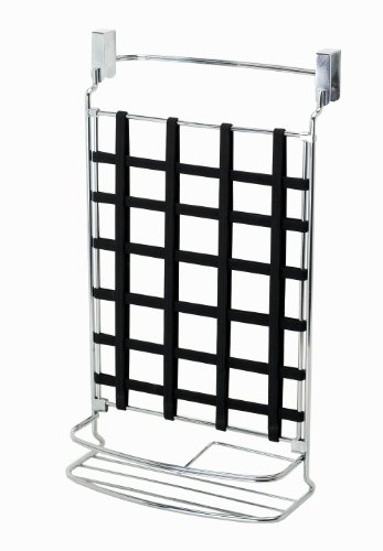Zenith Stretch And Store Over The Door Vanity Organizer, Chrome front-878436