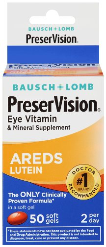 Bausch & Lomb Preservision with Lutein Eye