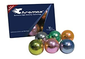 Chromax M1 Golf Balls 6 pack (Assorted)