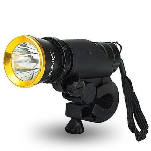 Best Brand Saik Sa-8 2-Mode High Power Led Cycle Bike Light Bicycle Flashlight