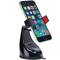 Osomount 360 Grip Universal In-Car Holder for All Smartphones (Black)