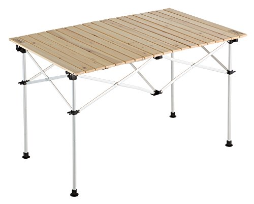 コールマン テーブル ナチュラルウッドロールテーブル110 2000023501