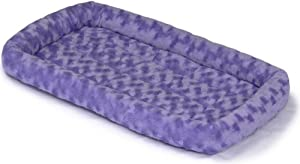 Midwest Quiet Time Fashion Pet Bed, Periwinkle, 24 x 18
