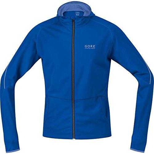 Gore Running Wear Essential - Sudadera con capucha para hombre, color azul, talla S