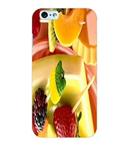 ColourCraft Fruits Design Back Case Cover for APPLE IPHONE 6S
