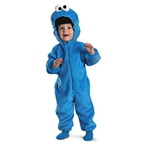Cookie Monster Dlx Plush - Size: Child L (4-6)