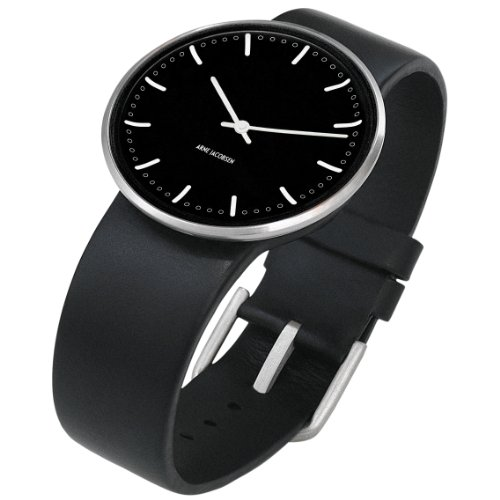 arne-jacobsen-city-hall-unisex-watch-43457-with-black-dial-and-black-calf-skin-strap-large