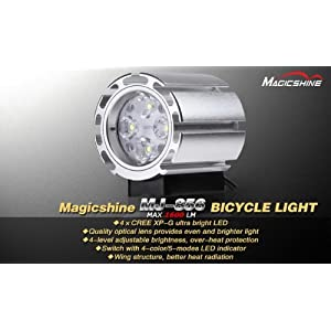 Click Here For Cheap Magicshine Mj-856b O-ring Mount 1600 Lumen Led Bike Light With Improved Default Battery Pack For Sale
